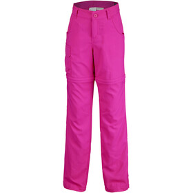 Columbia Silver Ridge III Convertible Pantalones Niñas, haute pink